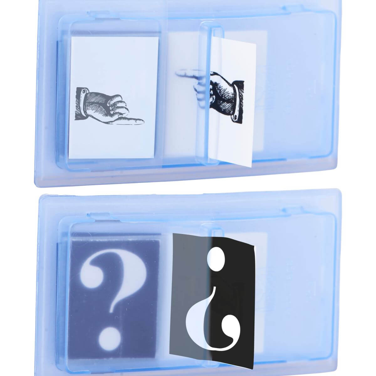 Image of   Monograph Index, Hand & Questions, Ass. 2 designs, 20 sider/dispenser
