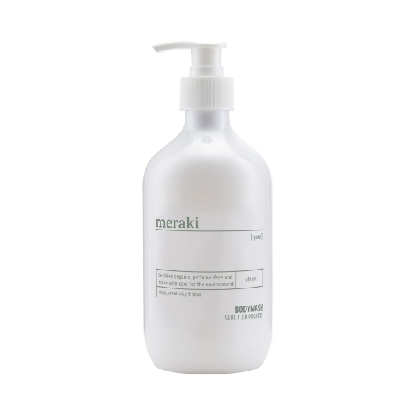 Image of   Meraki Body wash, Pure, 490 ml/16.5 fl.oz