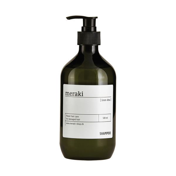 Image of   Meraki, Shampoo, Linen Dew, repair, 500 ml