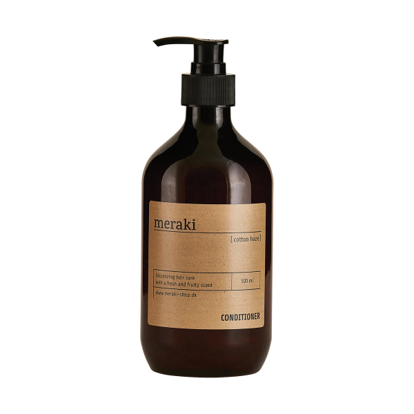 Image of   Meraki Hårbalsam, Cotton Haze, volume, 500 ml