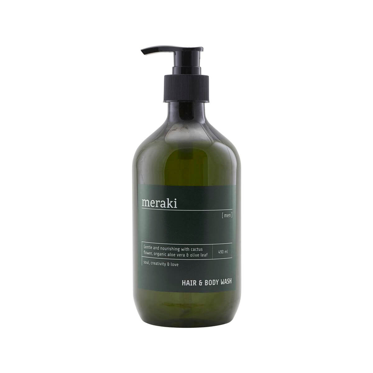 Meraki Hair & body wash, Men, 490 ml/16.5 fl.oz