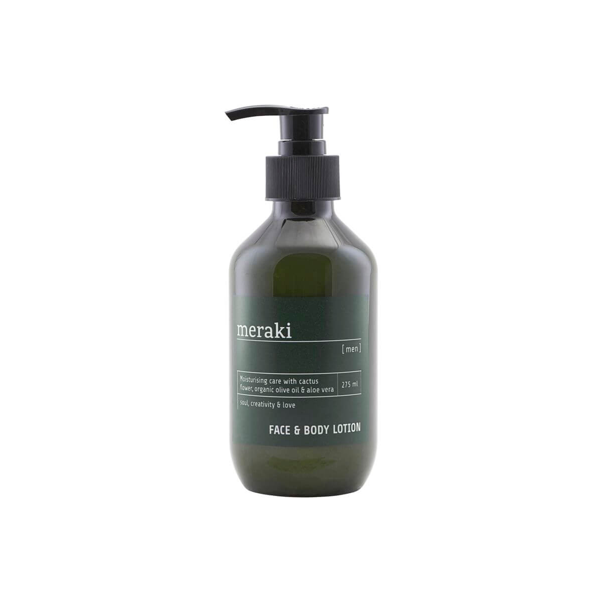 Image of   Meraki Face & body lotion, Men, 275 ml/9.3