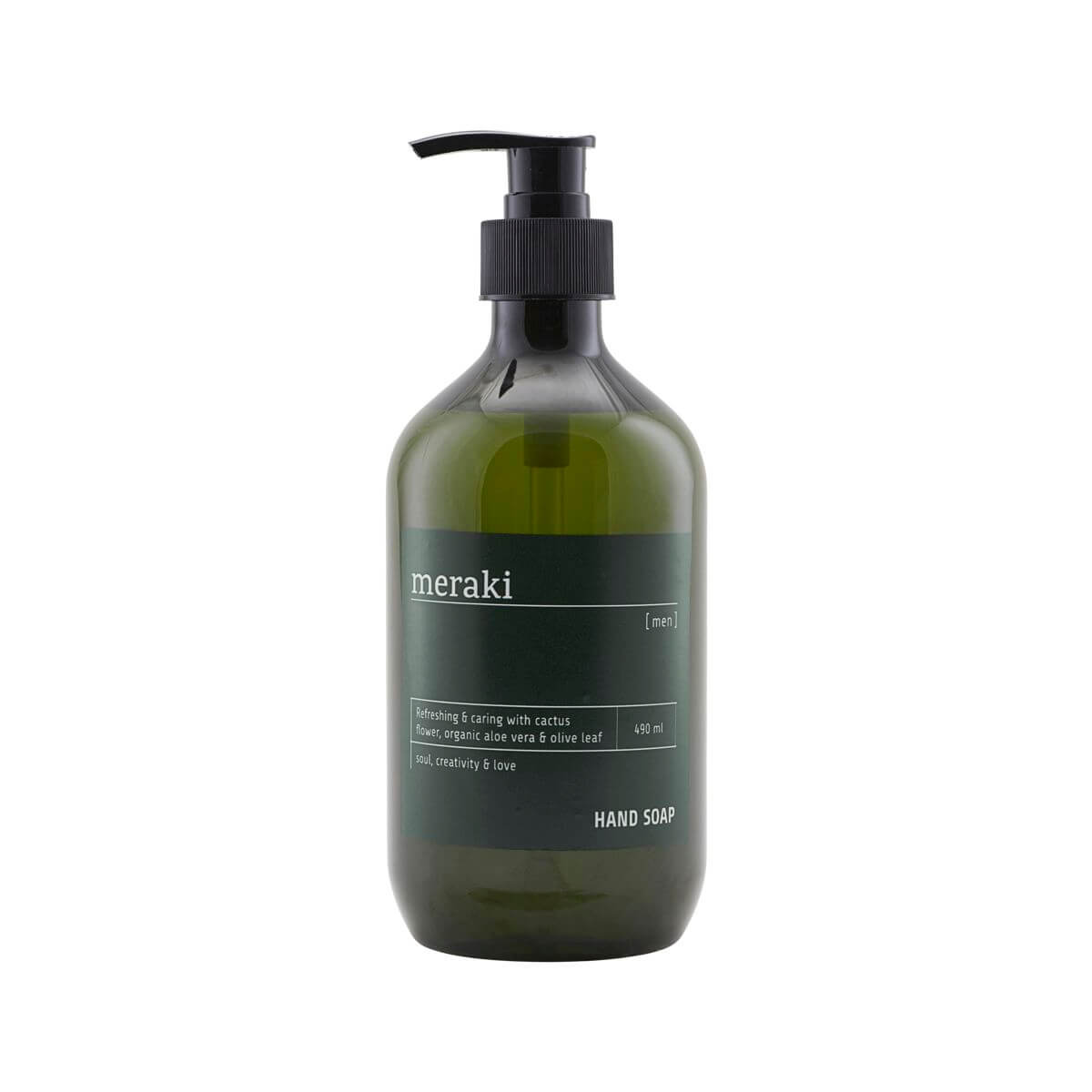 Image of   Meraki Håndsæbe, Men, 490 ml/16.5 fl.oz