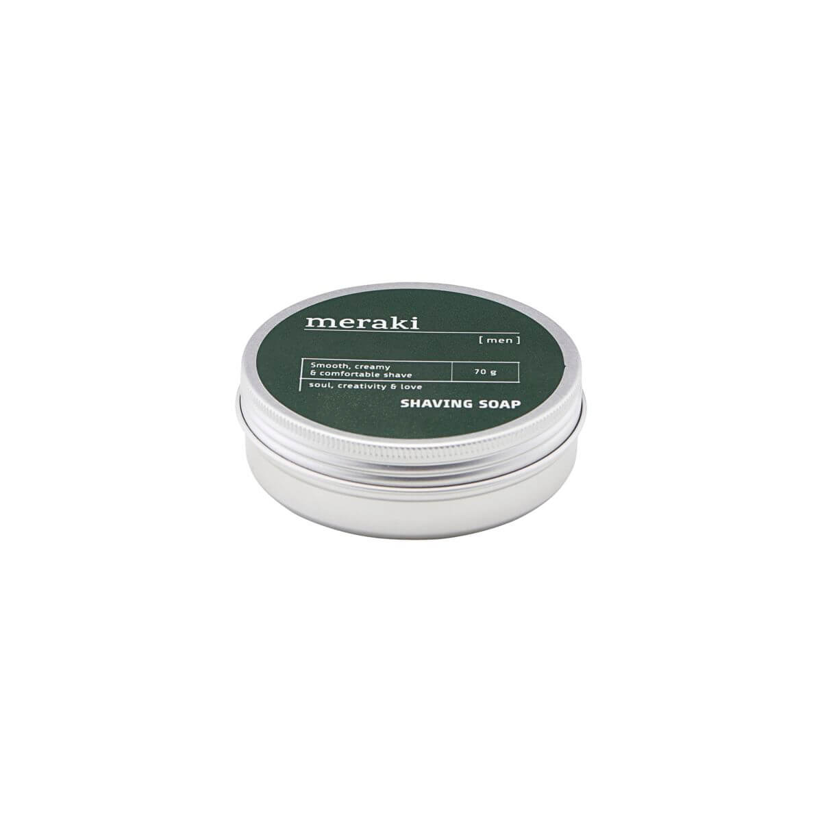 Meraki Shaving soap, Men, 70 g