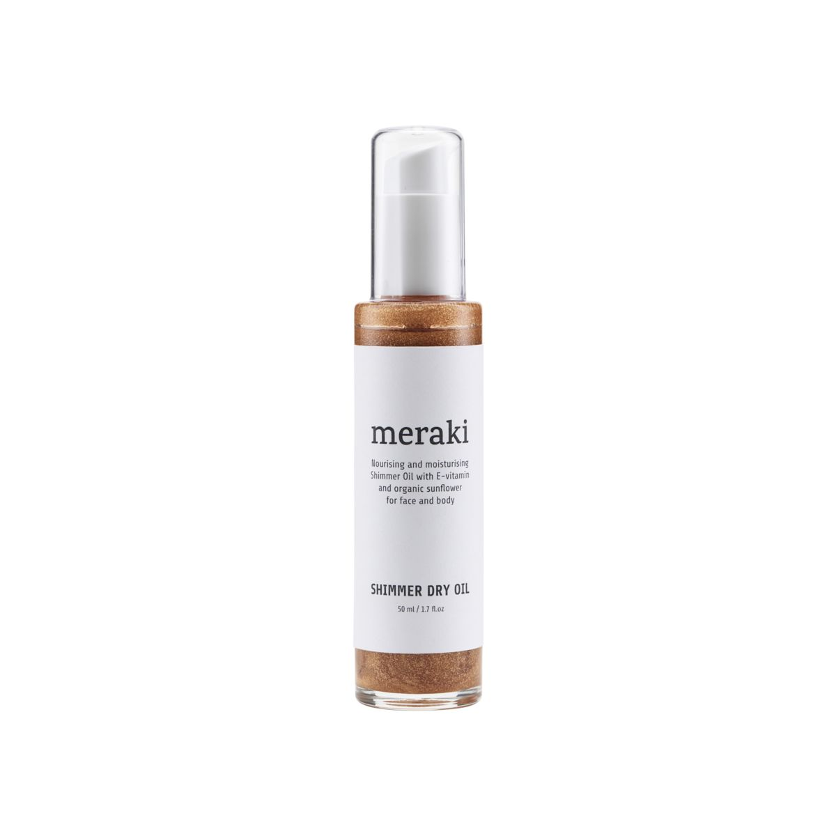 Image of   Meraki Shimmer Dry Oil, 50 ml