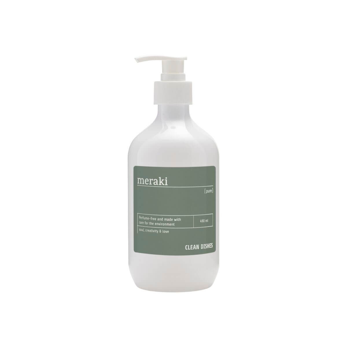 Image of   Meraki Opvaskemiddel, Pure, 490 ml/16.5 fl.oz