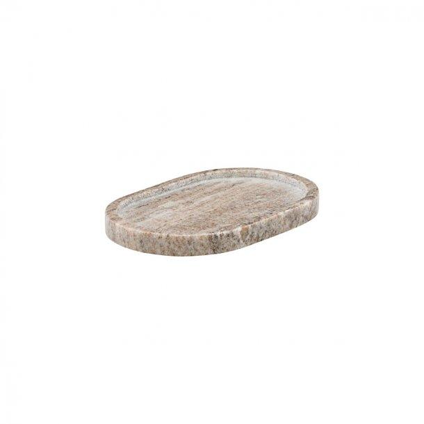Meraki Bricka, Beige, l: 19.5 cm, b: 12.5 cm, h: 2 cm