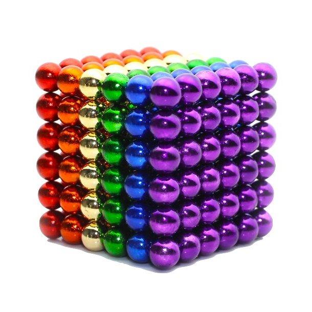 Neocube (216 balls, 5 mm) Rainbow
