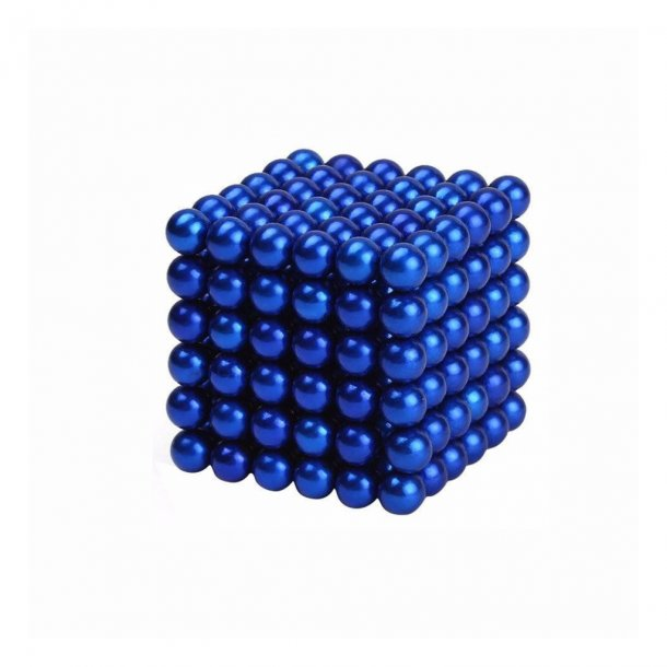 Neocube blå 216 balls, 5 mm
