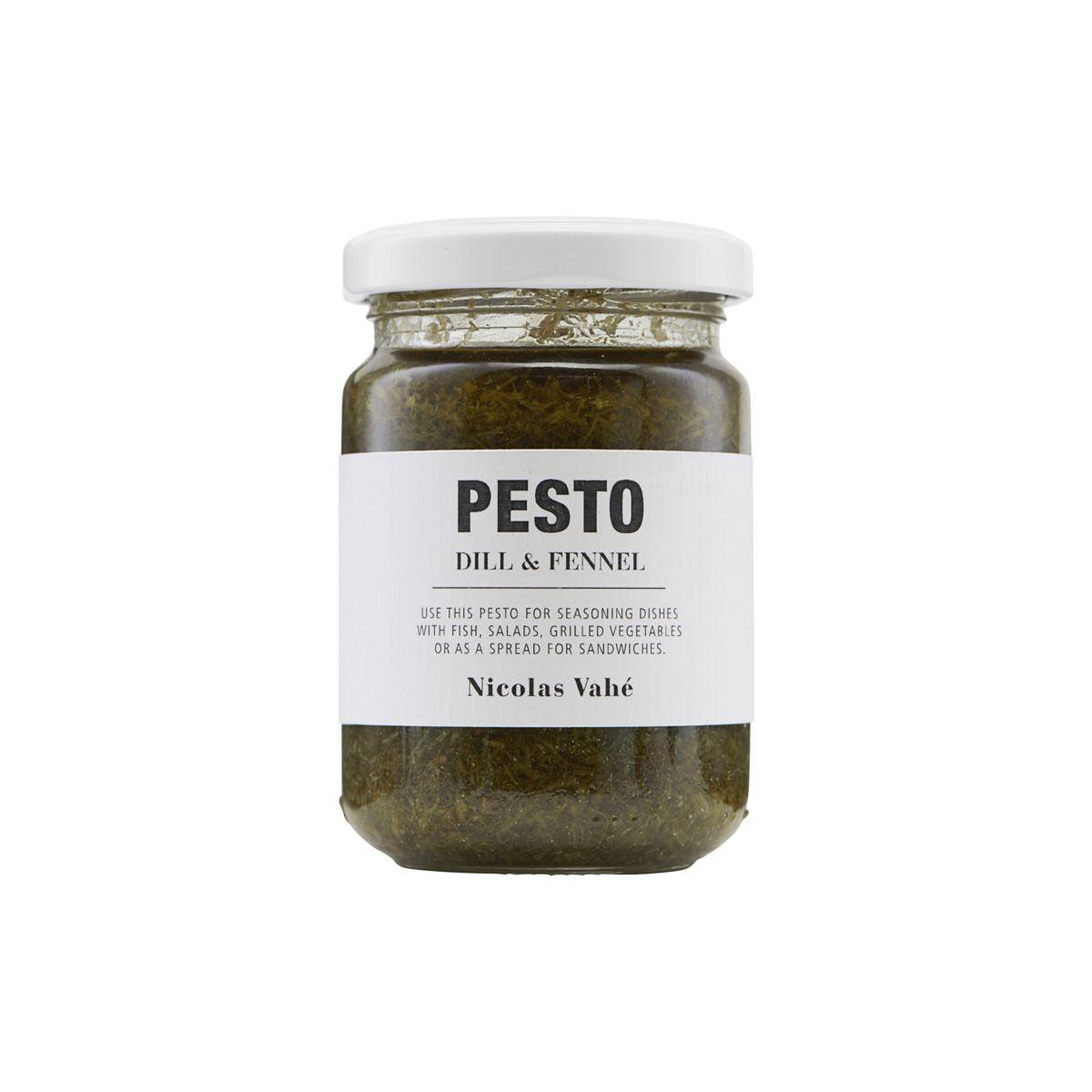 Image of   Nicolas Vahé Gourmet Pesto, Dild & Fennikel, 135 g.