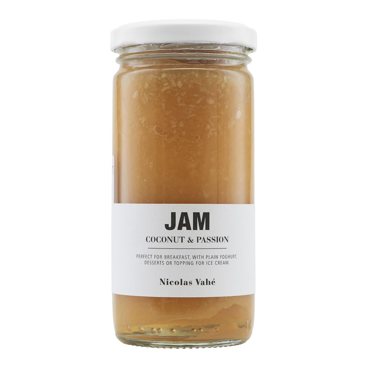 Marmelade, Kokos & Passionsfrugt, 290 g.