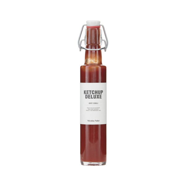 Image of   Nicolas Vahé Gourmet Ketchup Deluxe, Hot Chili, 280 g