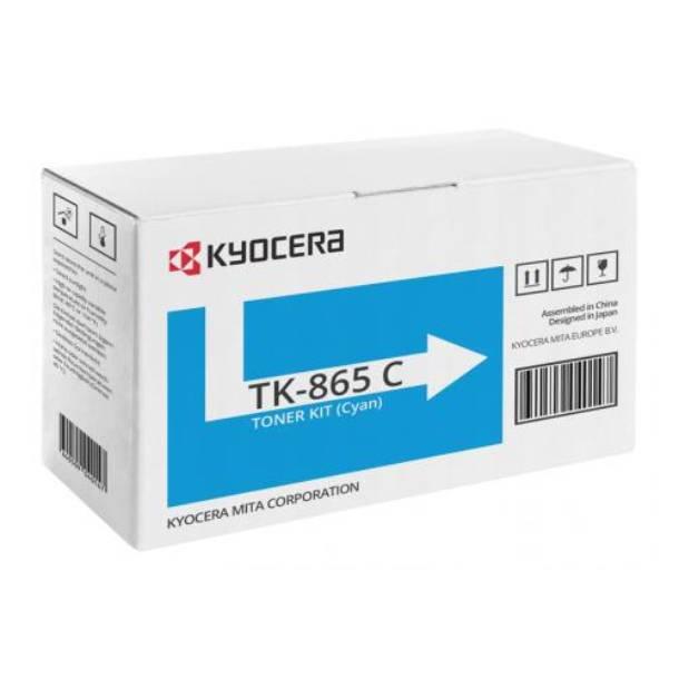 Kyocera TK-865 C lasertoner – 1T02JZCEU0  – Cyan 12000 sider