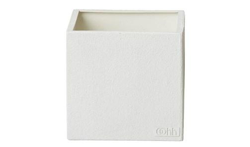 Image of   OOHH Squared Urtepotteskjuler 18 cm (Hvid)