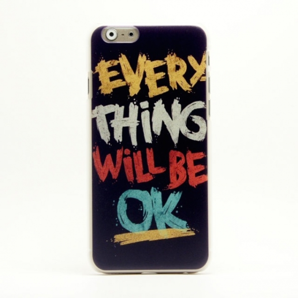 Image of   Everything Will Be OK Cover iPhone 5/5s
