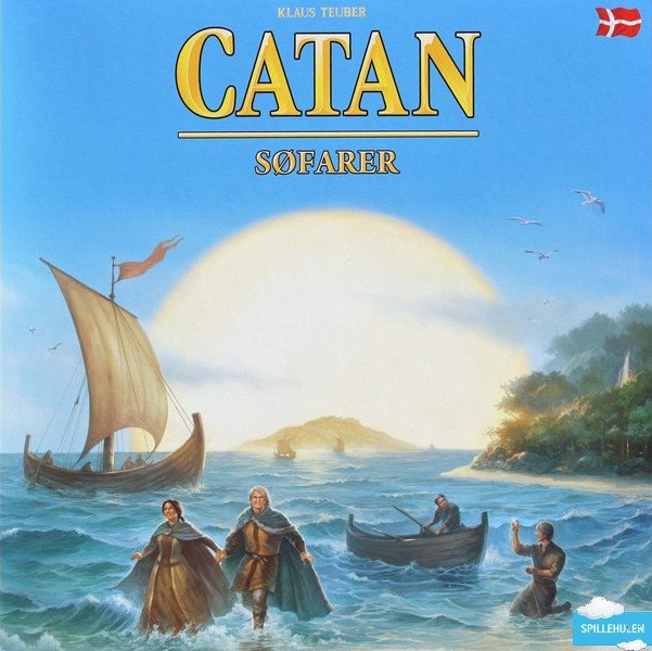 Image of   Settlers fra Catan, Søfarer