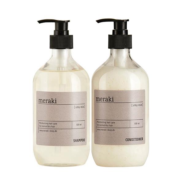 Meraki valuepack, shampoo/balsam, Silky Mist