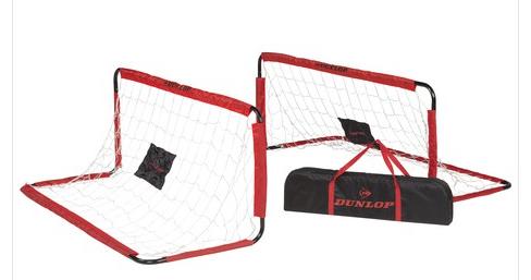Image of   Fodboldmål, Dunlop, 2 stk. 150x60x60cm