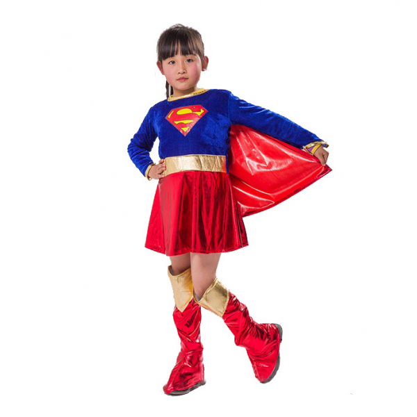 Image of   Kostumer til piger L super girl