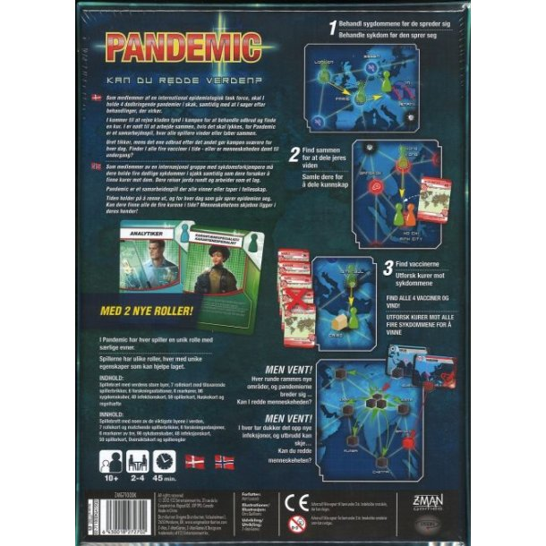 Pandemic - dansk
