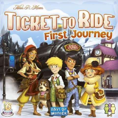 Image of   Ticket to Ride First Journey Europe