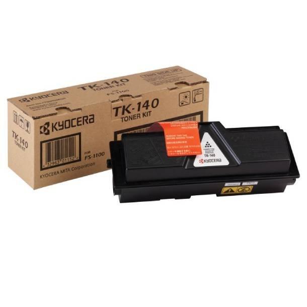 Kyocera TK-140 BK lasertoner – 1T02H50EUC  – Sort 4000 sider