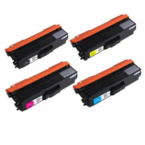Brother TN 310 combo pack 4 stk lasertoner BK/C/M/Y 7000 sider