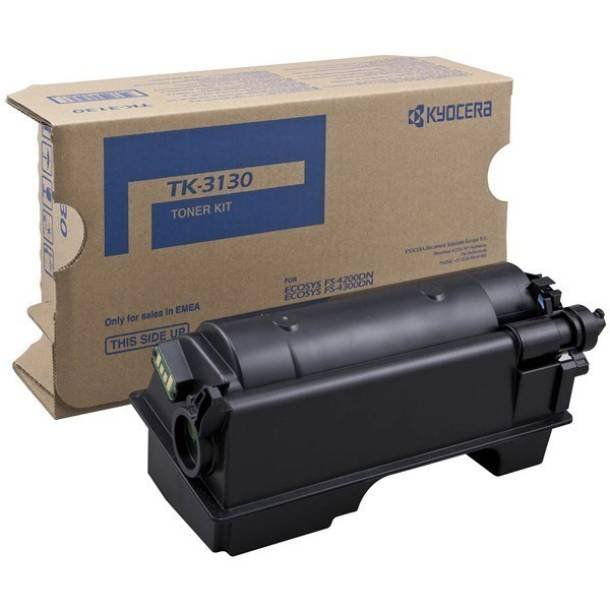 Kyocera TK-3130 BK lasertoner – 1T02LV0NL0  – Sort 25000 sider