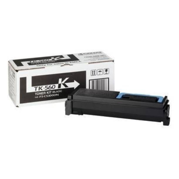 Kyocera TK-560 BK lasertoner – 1T02HN0EU0  – Sort 12000 sider