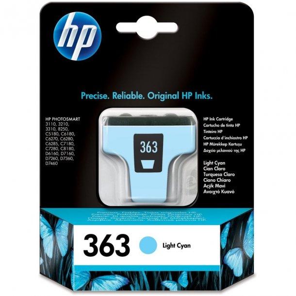 HP 363 LC (C8774EE) light cyan blækpatron,, 6 ml