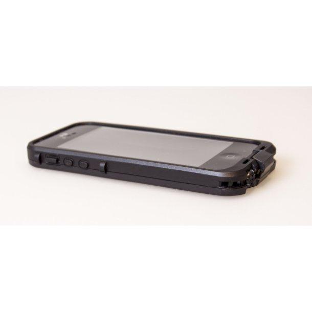 Vandtæt iPhone cover 4 / 4S, sort (som lifeproof)