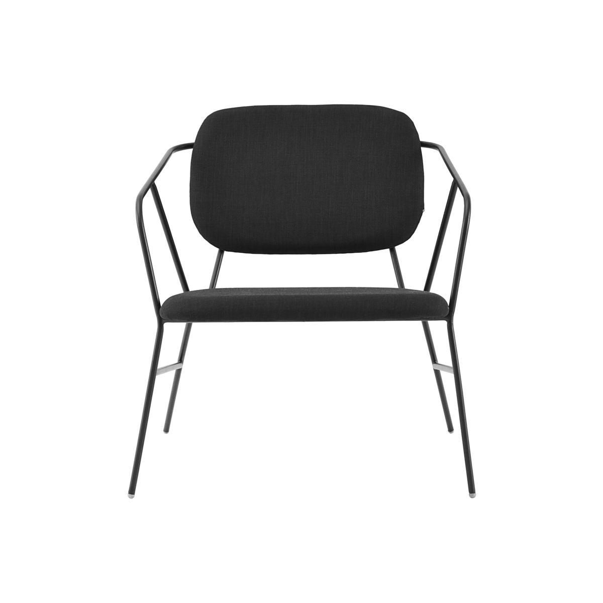 Image of   House Doctor Lounge stol, Klever, Sort