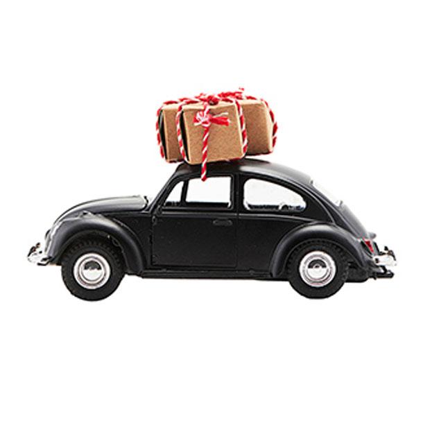 Image of   House Doctor Dekoration, Xmas car, Sort, l: 12,5 cm