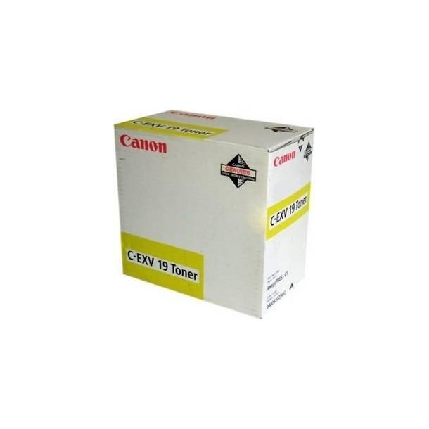 Canon C-EXV 19 Y 0400B002 gul toner,