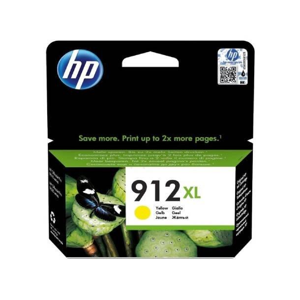 HP 912 XL Y blækpatron – 3YL83AE – Gul 10 ml