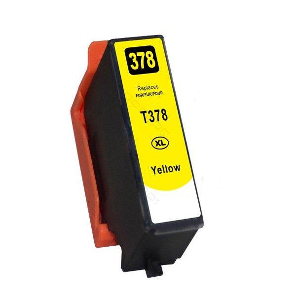Epson 378XL gul blækpatron 13,2ml C13T37944010
